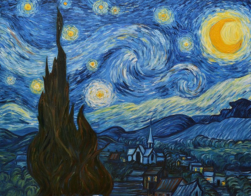 visual analysis of starry night Free and custom essays at essaypediacom take a look at written paper - visual analysis ofvincent van gogh's vineyards at auvers.