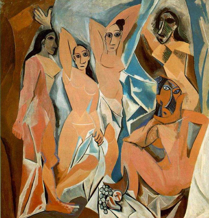 the development of cubism into different forms of art Cubism art: technique & history cubism was divided into two categories russia and south america caught on and began experimenting with different forms of.